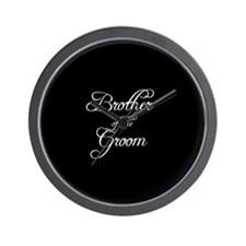 Brother Of Groom - Formal Wall Clock
