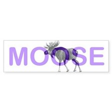 Moose Bumper Bumper Sticker