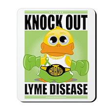 Knock-Out-Lyme-Disease Mousepad