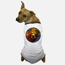 STAINED GLASS BEAR HEAD Dog T-Shirt