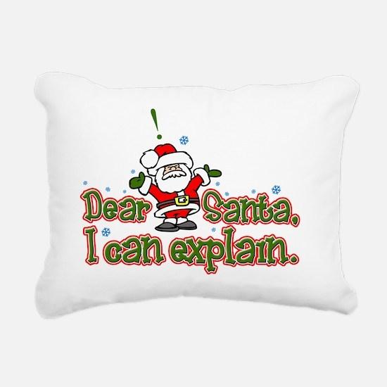 ICanExplainLight Rectangular Canvas Pillow
