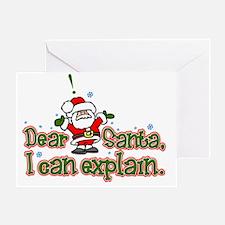 ICanExplainLight Greeting Card