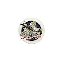 P-39-Bell-Airacobra Mini Button
