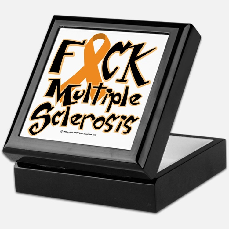 Fuck-Multiple-Sclerosis Keepsake Box