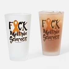 Fuck-Multiple-Sclerosis Drinking Glass