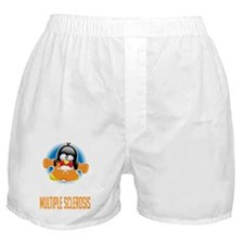 MS-Boxing-Penguin-BLK Boxer Shorts