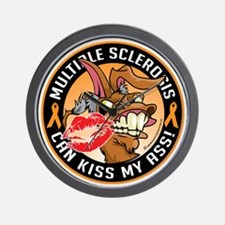 Multiple-Sclerosis-Can-Kiss-My-Donkey Wall Clock