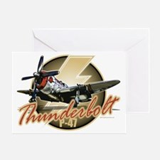 P-47-Thunderbolt Greeting Card