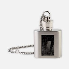 NeonFoot5x8 Flask Necklace