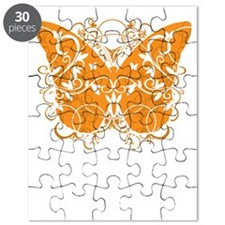 Multiple-Sclerosis-Butterfly-blk Puzzle