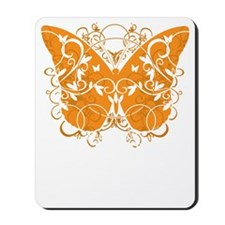Multiple-Sclerosis-Butterfly-blk Mousepad