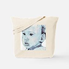 PencilPortrait Tote Bag