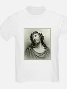 Portrait of Jesus Kids T-Shirt