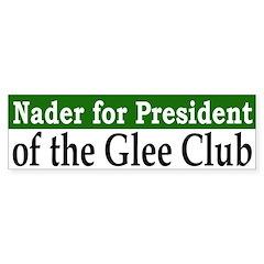 Nader for President (bumper sticker)