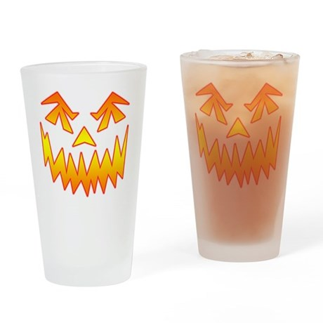 JackoFace 2 Drinking Glass