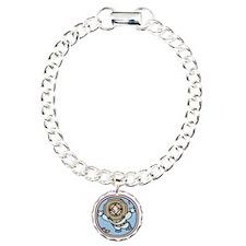 diver-womb-T Charm Bracelet, One Charm