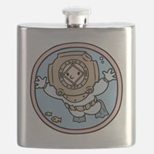 diver-womb-T Flask