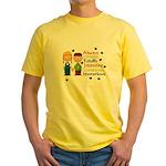 Always UNIQUE... Yellow T-Shirt