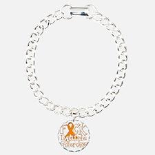 Fuck-Multiple-Sclerosis- Charm Bracelet, One Charm