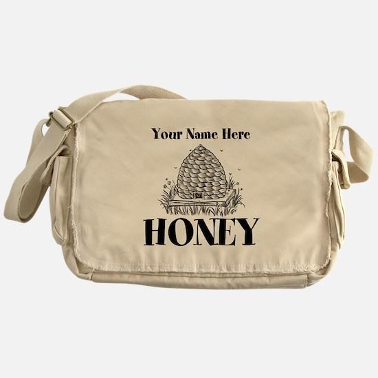 Vintage Honey Messenger Bag