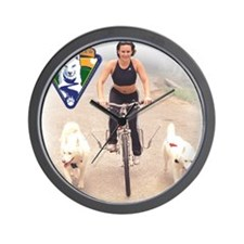 TrainingWheelsRGB Wall Clock