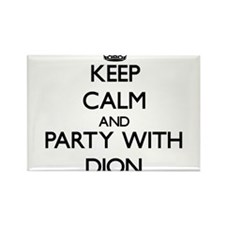 Keep Calm and Party with Dion Magnets