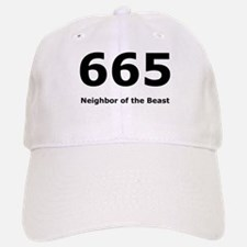 Neighbor of the Beast Baseball Baseball Cap