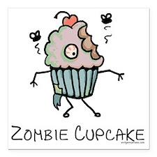 "zombiecupcake Square Car Magnet 3"" x 3"""