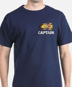 Fire Department Captain T-Shirt