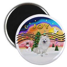 XMusic2 - American Eskimo Dog Magnet