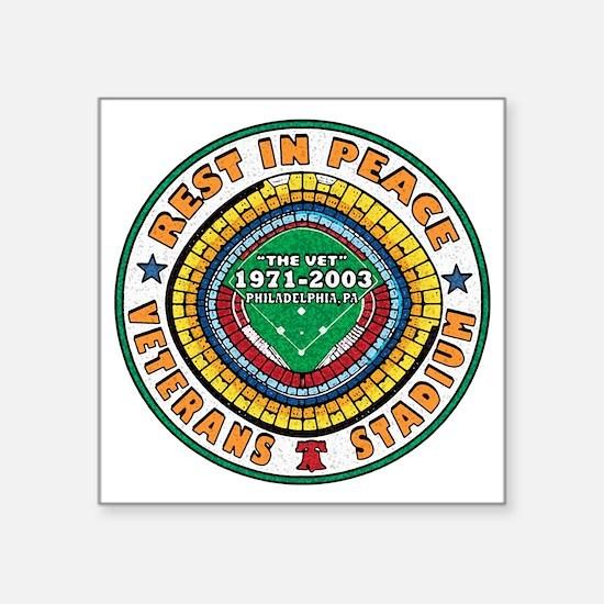 """RIP VET 2010 COLOR Square Sticker 3"""" x 3"""""""