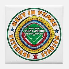 RIP VET 2010 COLOR Tile Coaster
