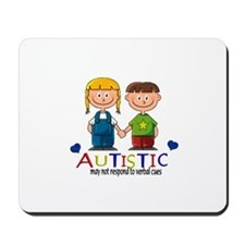Autistic~may not respond to v Mousepad