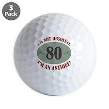Obsolete80 Golf Ball