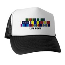uss-voge-group-text Trucker Hat