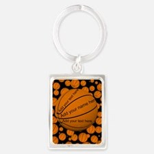 Basketball Portrait Keychain