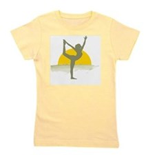 AccentImage yoga sun Girl's Tee
