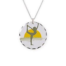 AccentImage yoga sun Necklace