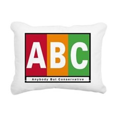 2-Copy of abc lawn Rectangular Canvas Pillow