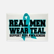 RealMen-PCOS Rectangle Magnet