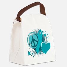 PCOS-PLC-blk Canvas Lunch Bag