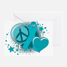 PCOS-PLC-blk Greeting Card