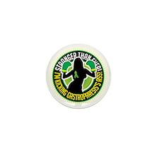 Gastroparesis-Boxing-Girl Mini Button