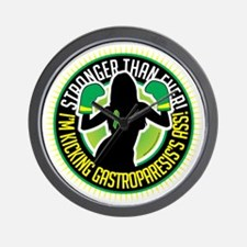 Gastroparesis-Boxing-Girl Wall Clock