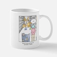 Librarians are gangsta af Mugs