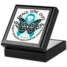 PCOS-Butterfly-Tribal-2 Keepsake Box