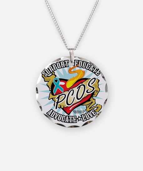 PCOS-Classic-Heart Necklace