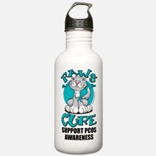 Paws-for-the-Cure-Cat- Water Bottle
