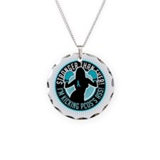 PCOS-Boxing-Girl Necklace