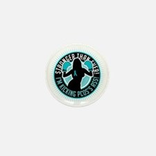 PCOS-Boxing-Girl Mini Button